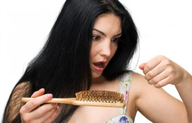 Image result for Female Hair Thinning And Stress